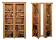 Murphy Door Kit Lets You DIY Your Own Hidden Door Murphy Door, Door Kits, Diy Door, Secret Places, Barn, Closet Doors, Shelves, House, Furniture