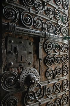 doors & locks... they should make a statement