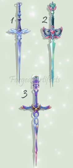 Weapon Adoption 49 CLOSED by Forged-Artifacts on DeviantArt