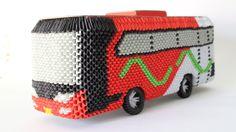 HowTo: 3D Origami Bus Om Telolet Om - Part 3 - YouTube