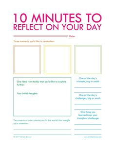 Free Printables - CHRISTIE ZIMMER | guided journals for insight and action