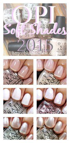 OPI 2015 SoftShades Nail Polish Collection Swatches