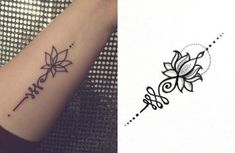 mynewtattoo unalome lotus flower unalome this symbol. Black Bedroom Furniture Sets. Home Design Ideas