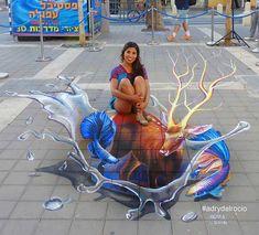 Murals Street Art, 3d Street Art, Chalk Artist, Pavement Art, 3d Painting, Urban Art, Graffiti, Eye, Inspiration