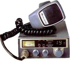 CB Radio-  breaker breaker one nine, comin' attcha.  We always took the CB radio with us when we went on vacation.  It was a rather strange form of entertainment!