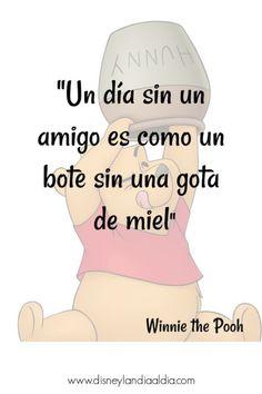 "Winnie lo dice ""U Frases Disney, Disney Movie Quotes, Mr Wonderful, Motivational Phrases, Disney Love, Friendship Quotes, Disney Pixar, Happy Life, Winnie The Pooh"