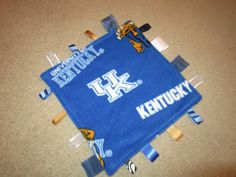 University of Kentucky Wildcats ribbon blanket by roses728 on Etsy, $9.99