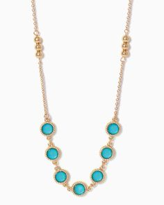 charming charlie | Dancing Dots Necklace | UPC: 410006421080 #charmingcharlie