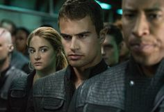During the attack on Abnegation. The sigh of relief Tris had when she realized Four wasn't under the simulation.