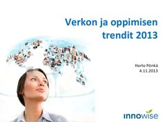 Verkon ja oppimisen trendit 2013