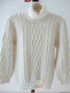 Белый мужской свитер с аранами. Обсуждение на LiveInternet - Российский Сервис Онлайн-Дневников