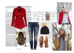"""""""Bundled Up"""" by mgilde ❤ liked on Polyvore featuring BGN, Mavi, Tallis, Casetify, Gap and Bling Jewelry"""