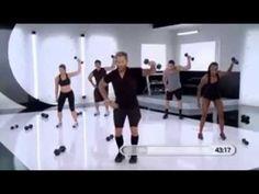 Bob Harper - Total Body Transformation Workout i love his workout Bob Harper Workout, Body Transformation Workout, Cardio, Workout Videos, Exercise Videos, Fit Board Workouts, Intense Workout, Total Body, Weight Loss Motivation