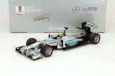 Nico Rosberg Mercedes F1 W04 #9 Winner GP Monaco Formel 1 2013 1:18 Minichamps