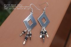 A personal favorite from my Etsy shop https://www.etsy.com/listing/220411230/silver-diamond-shape-earrings-stainless