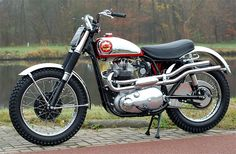 BSA Rocket Gold Star Spitfire Scrambler