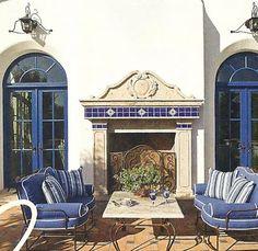 A beautiful patio