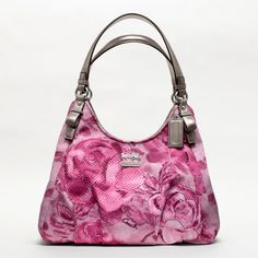 COACH Madison Floral Maggie Shoulder Bag.......YUM!