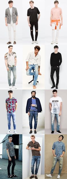 6 Statement Menswear Pieces for Spring/Summer 2015: 5. Men's Ripped and Distressed Jeans Lookbook Inspiration
