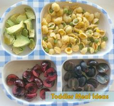 Healthy & Simple Toddler Meal Ideas