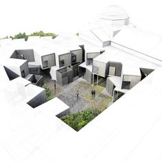 courtyard rendering