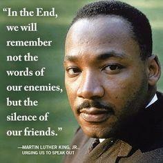 Speak out ~ MLK