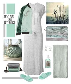 """""""Sandy toes and salty kisses"""" by musicfriend1 ❤ liked on Polyvore featuring Pom Pom at Home, Vince, Opening Ceremony, Melissa, Marni, Casetify and Verb"""