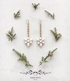 The Nikki Witt Anastasia Earrings Bespoke Jewellery, Anastasia, Hair Accessories, Earrings, Beauty, Jewelry, Instagram, Ear Rings, Stud Earrings