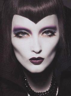gothic makeup make up girl