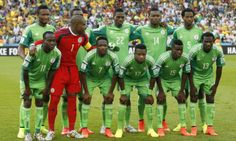 Selección nacional de Nigeria en Brasil 2014