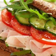 Turkey and Cucumber Sandwich http://www.womenshealthmag.com/food/lunch-ideas?slide=9