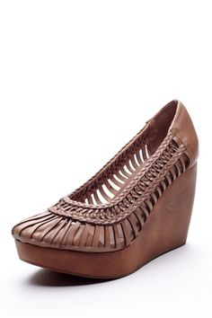 I think I could live in these!!  Fiel Bali Woven Wedge