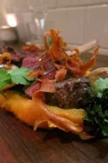 Venison Steak @ Richmondstation.ca Toronto. www.ontariotable.com/richmond-station/ Toronto, Beef, Dining, Food, Meal, Meal, Essen, Hoods, Ox
