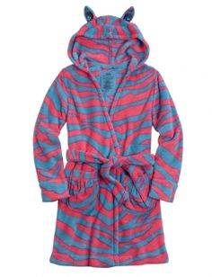 Shop Zebra Fleece Robe and other trendy girls pajamas pjs, bras & panties at Justice. Find the cutest girls pjs, bras & panties to make a statement today.