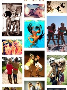 Cute bestfriend picture ideas!! I so doing most of these with my BFF!