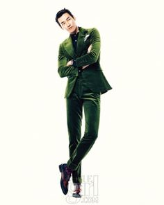 Kim Young Kwang - Vogue Girl Magazine December Issue '12