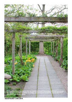 HAVEFOLKET NR 2 2014  Havefolket June 2014  // Danish Garden Magazine // Gardening Inspiring gardens, gardens all over the world