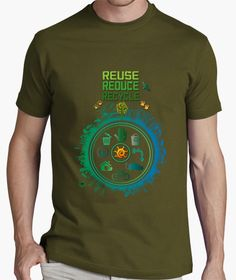 Reuse, reduce, recycle, protect our world and enjoy nature
