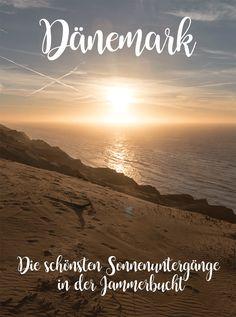 Dänemark – Nordjütland: Bildschöne Sonnenuntergänge in der Jammerbucht