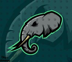Mascot logo for Kryptid