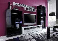 Große Auswahl Moderner Wohnwände In Hochglanz, Holz U0026 Vielen Farben. Vieles  Sofort Lieferbar Und Teils Montiert. Kaufen Sie Ihre Neue Wohnwand  Günstiger!