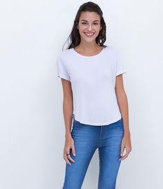 Blusa feminina  Modelo cropped  Manga curta  Aberta nas costas  Estampada  Marca: Blue Steel  Tecido: malha   Composição: 100% algodão   Modelo veste tamanho: P     COLEÇÃO INVERNO 2016     Veja outras opções de    blusas femininas.