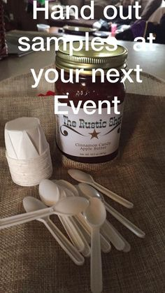 Lisa Stuhr shared this great idea with us! | Vendor Event Tips
