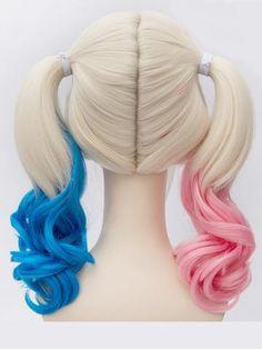 Soowee Synthetische Haar Frauen Wrap Pferdeschwanz My Little Pony Schwanz Clip In Haarverlängerungen Blonde Pferdeschwanz Haarteil Fairy Tail Phantasie Farben Haarverlängerung Und Perücken