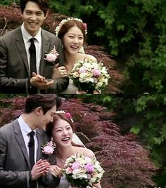 ❤❤❤ Soo natural.. Like they falling each other.. Please, become a real couple soon!!!