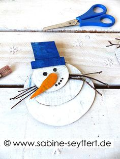 Christmas Crafts For Toddlers, Toddler Crafts, Activities For Kids, Snowman, Disney Characters, Fictional Characters, Blog, Winter, Art Projects For Toddlers