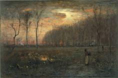 Virginia Sunset George Inness - 1889