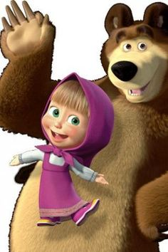masha and the bear images - Buscar con Google