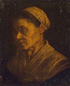 Portrait of an Old Woman , Circa 1580 Bassano, Leandro (Leandro da Ponte). Hermitage   Flickr - Photo Sharing!