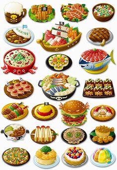 「ゲーム 料理 イラスト」の画像検索結果